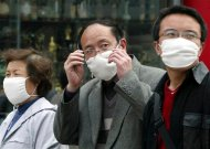 China People And Flu